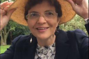 Julia in a hat
