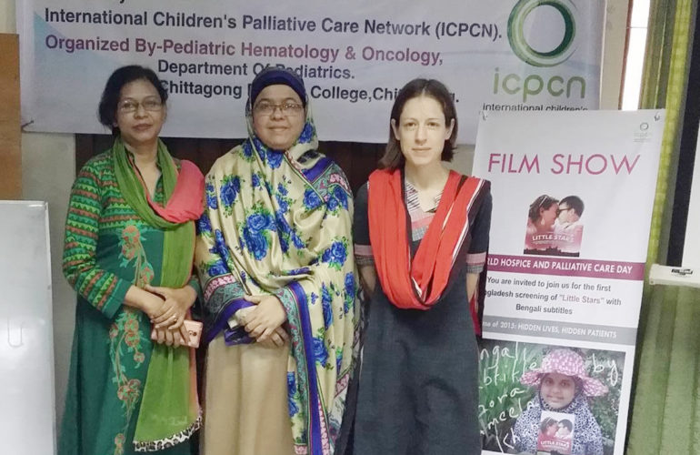 First symposium and training workshop on paediatric palliative care in Bangladesh