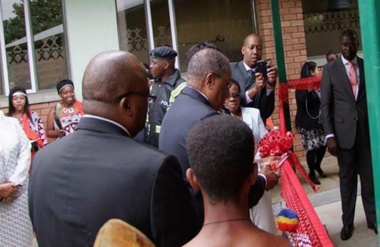New paediatric TB Centre of Excellence opens in Swaziland