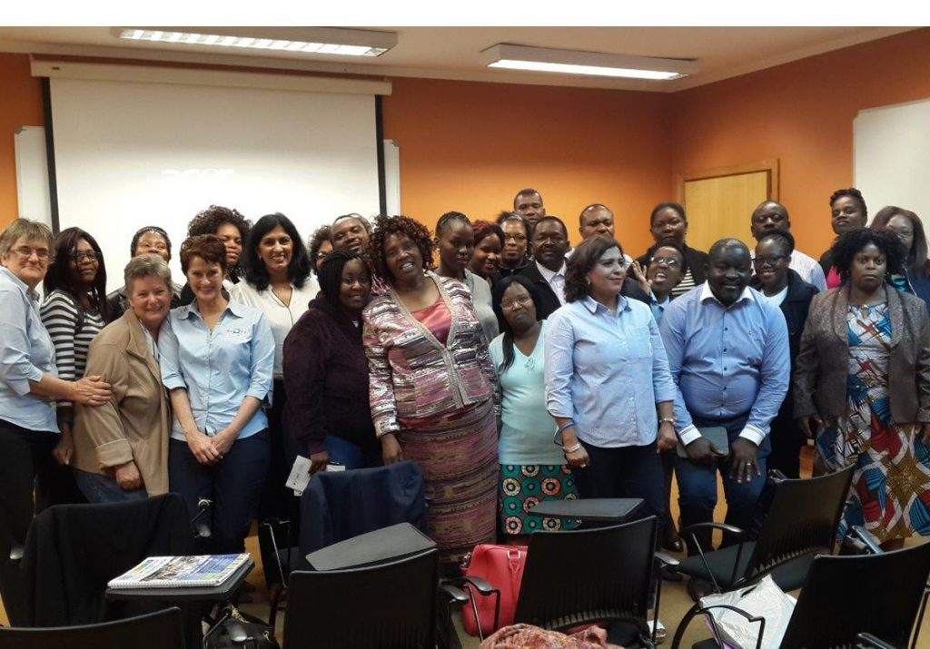 Key health care workers in Swaziland trained on early warning signs of childhood cancer