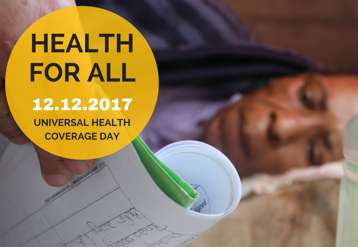 Universal Health Coverage Day: #HealthForAll