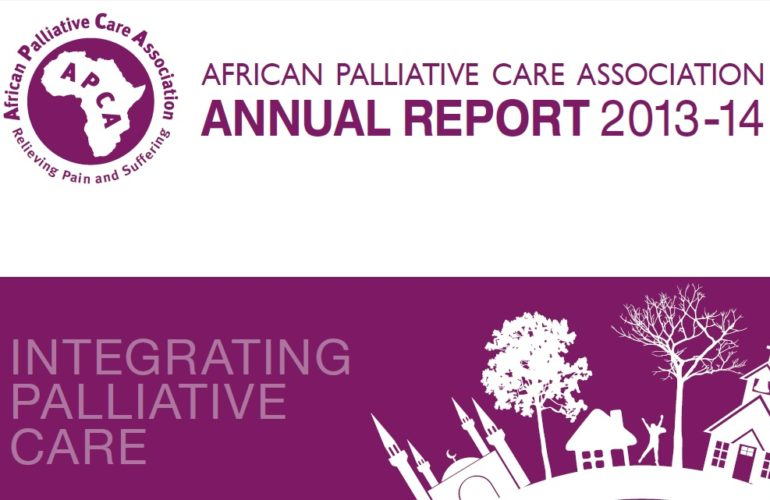 African Palliative Care Association documents palliative care progress across Africa