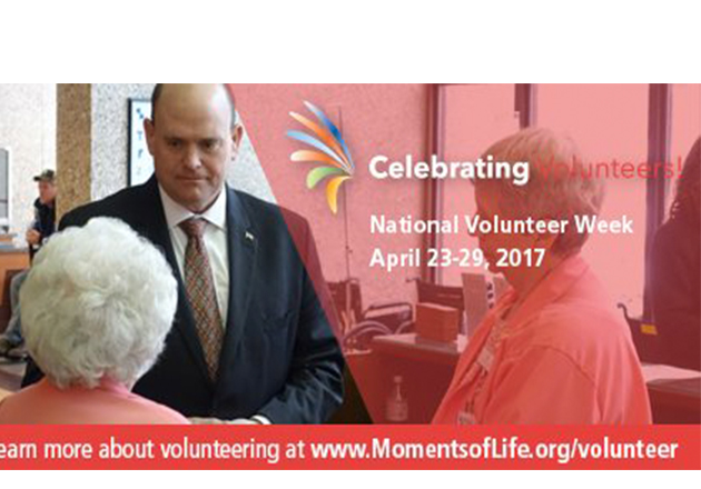 Representative Tom Reed shares message of appreciation for volunteers