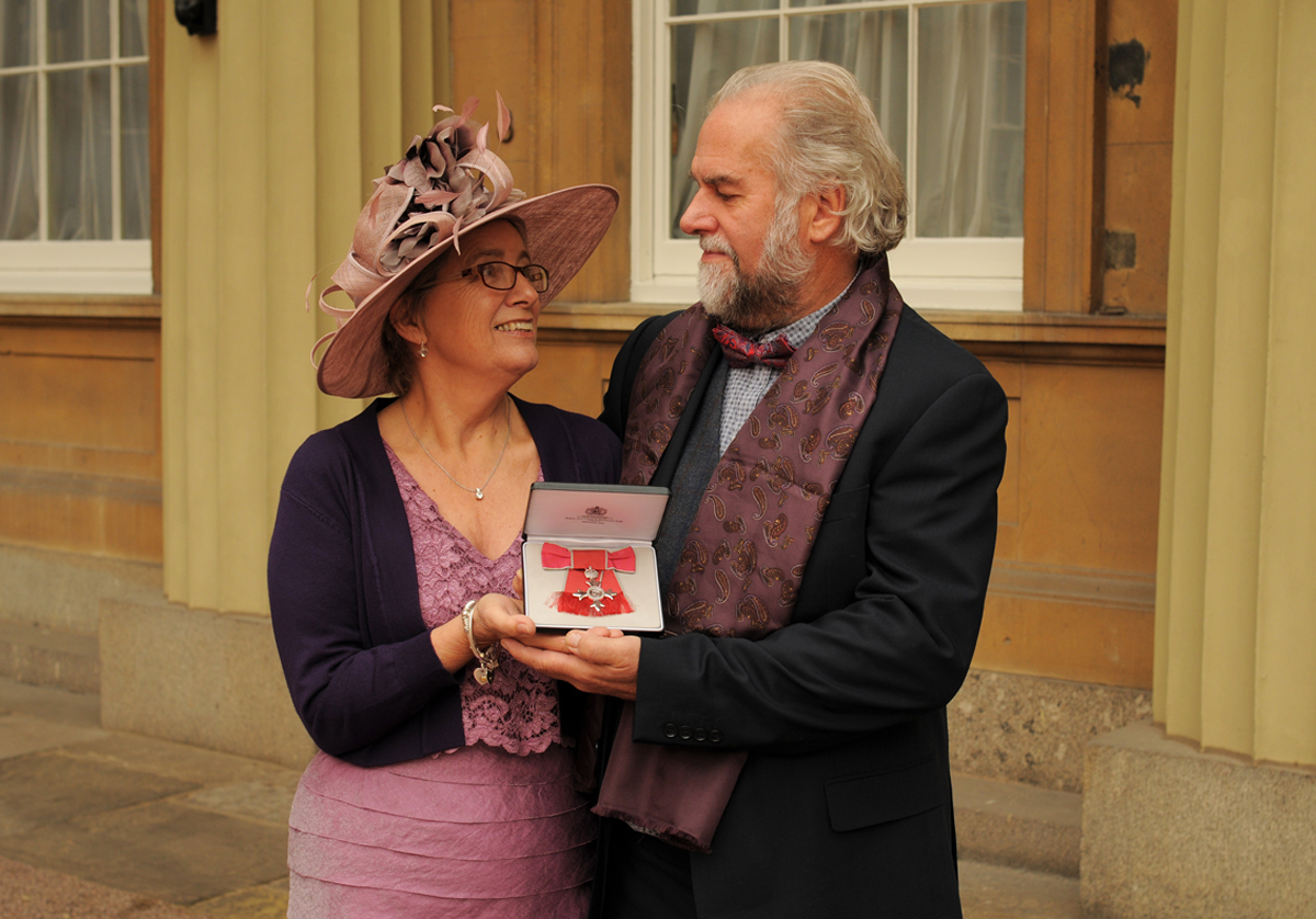 Children's palliative care champion receives MBE for her work in China