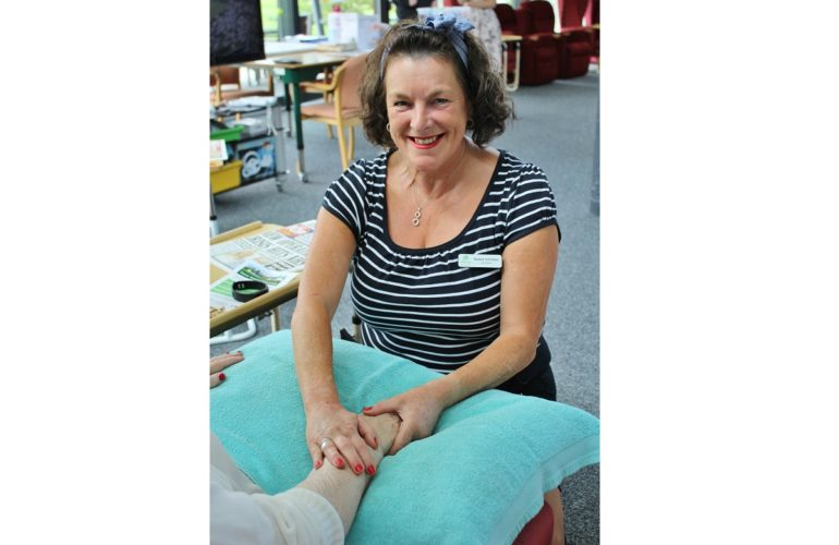 Why I volunteer: Because I enjoy caring for patients