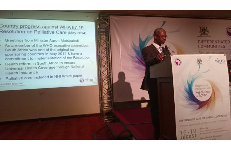 We all wish to die well – what can we and the Kampala Declaration do to achieve this goal?