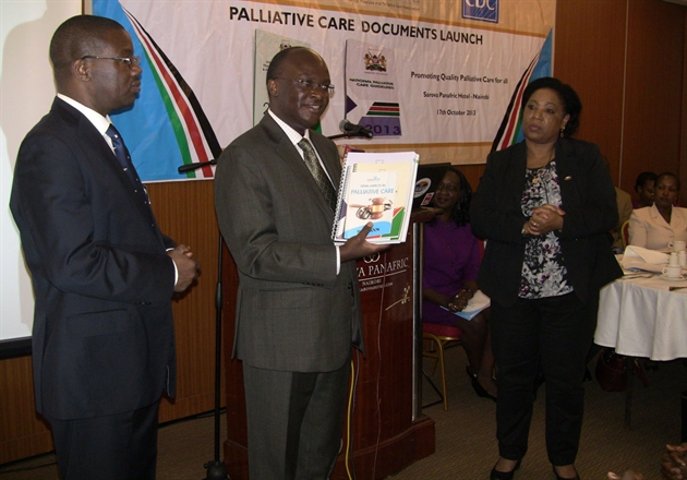 Kenyan Ministry of Health launches National Palliative Care Documents