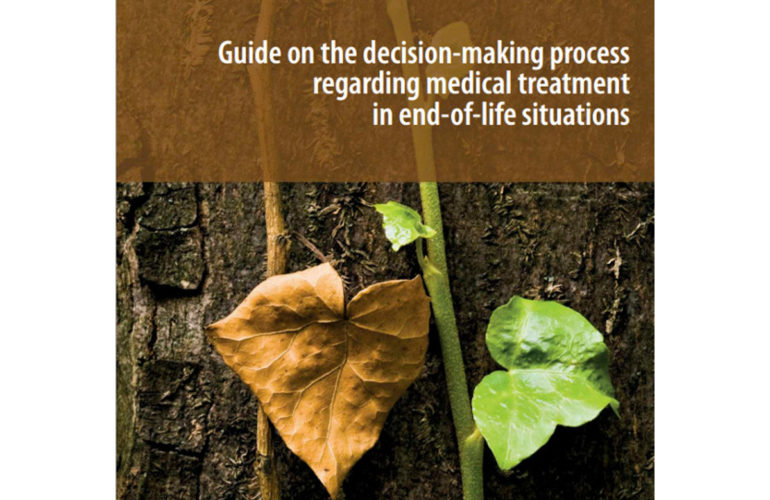 Council of Europe launches end of life treatment guide