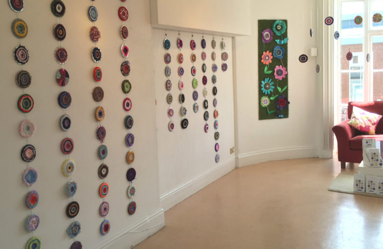 Exhibition marks end of hospice arts project's first year