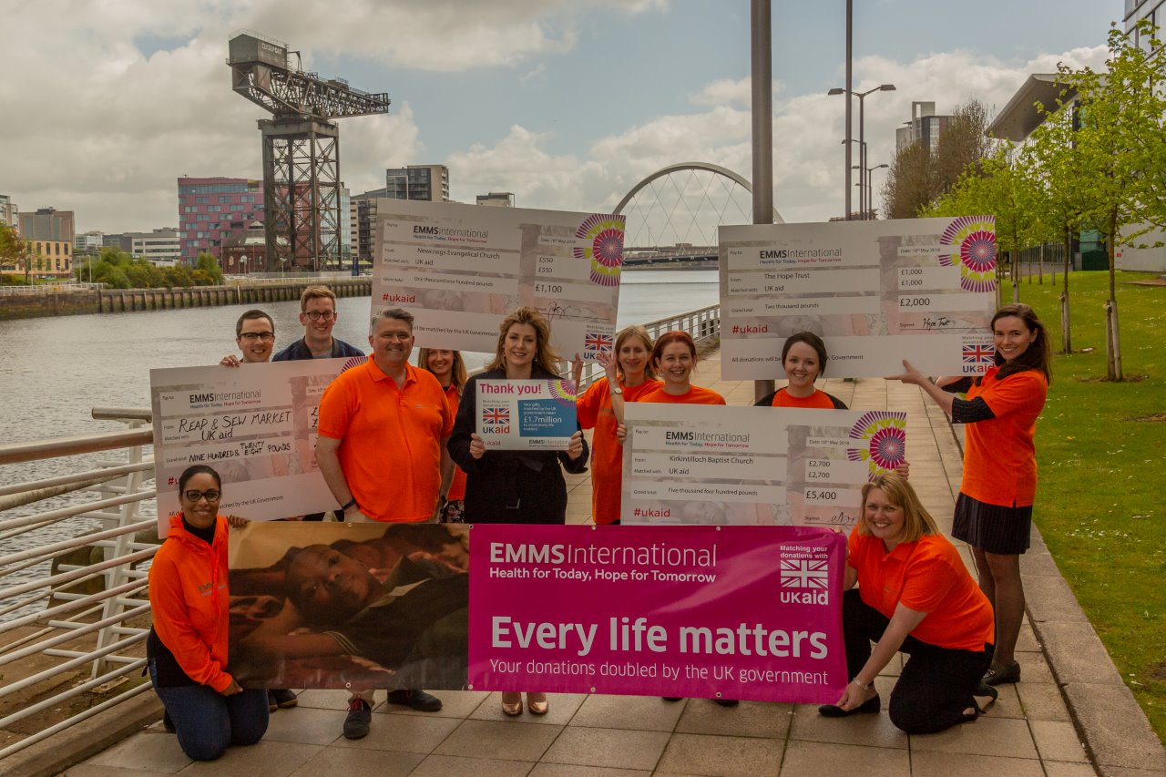 UK International Development Secretary joins Scottish charity to show Every Life Matters