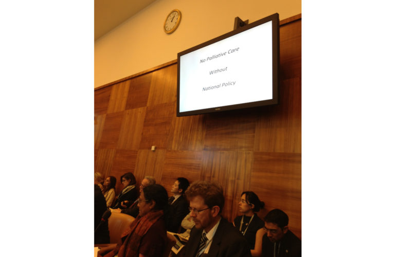Palliative Care at the World Health Assembly
