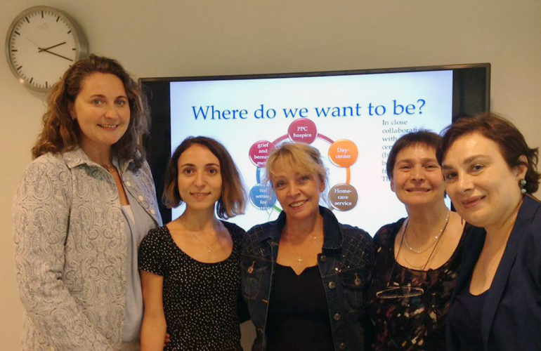 Georgian paediatricians receive CPC training in The Netherlands