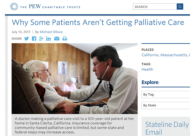 A look at access to palliative care in the U.S.