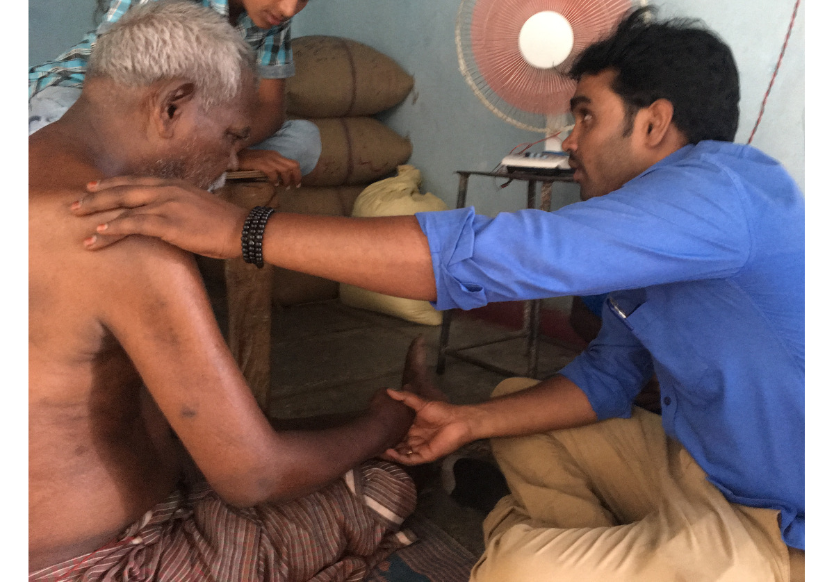 The role of physiotherapy in palliative care – interview with Dr Ashok