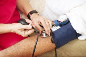 Testing Blood Pressure - Closeup