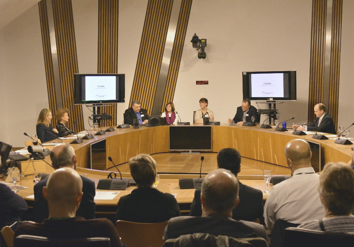 A world first: Scottish Parliament hosts the signing of the Religions of the World Charter for Children's Palliative Care