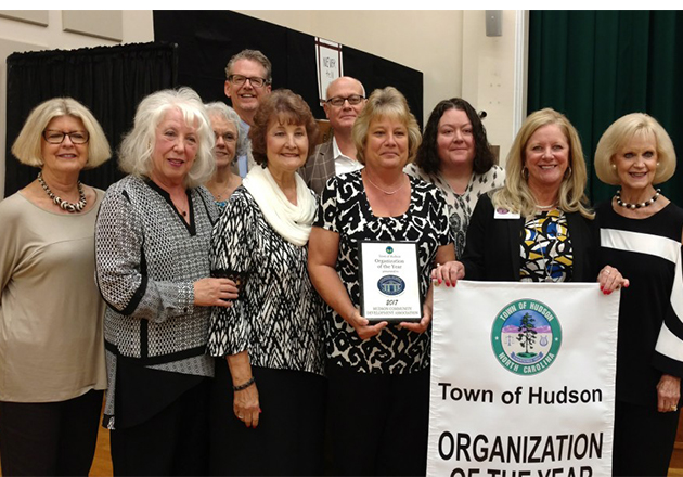 "Town of Hudson names Caldwell Hospice ""Organization of the Year"""