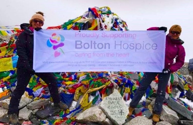 Why I volunteer: To help develop the hospice in my home town