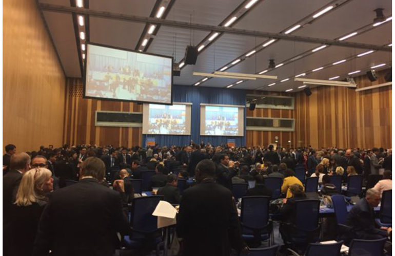 Global drug policy debate at the 59th Session of the Commission on Narcotic Drugs in Vienna