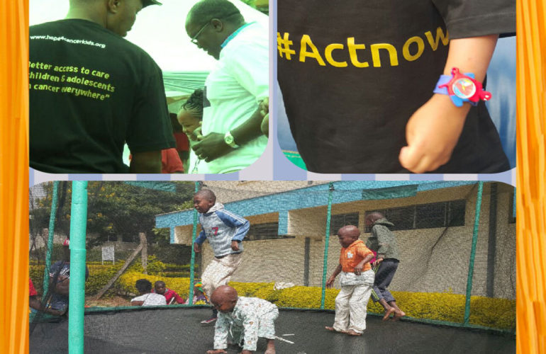 Act now for children with cancer