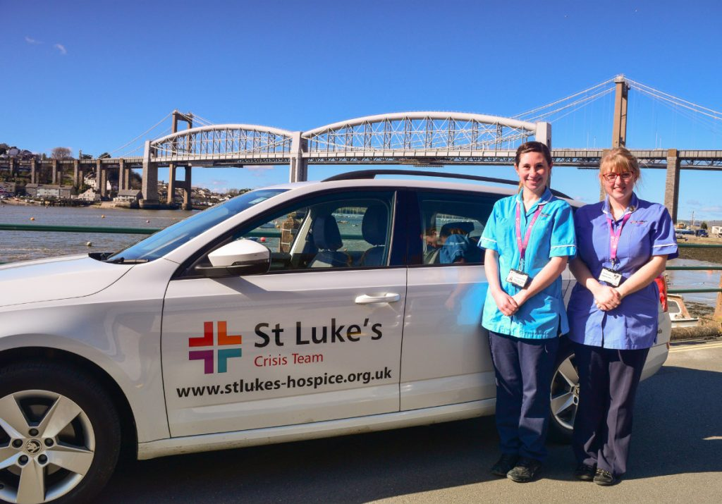 St Luke's Hospice Plymouth extends successful crisis care service for people at the end of their lives