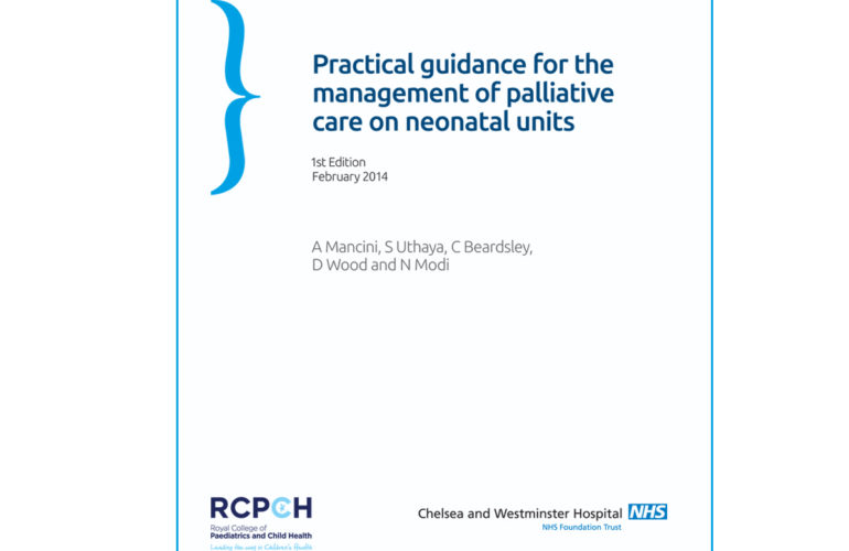 Palliative care on neonatal units: first guidance published in the UK