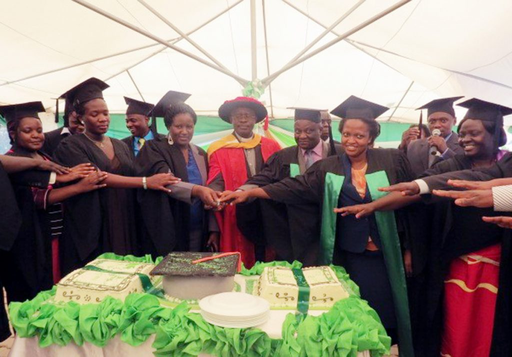 First seven graduates in paediatric palliative care for Uganda