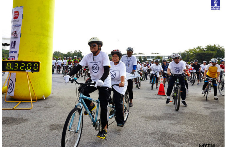 Ride for palliative care –  one women's quest to raise awareness  for palliative care in Malaysia