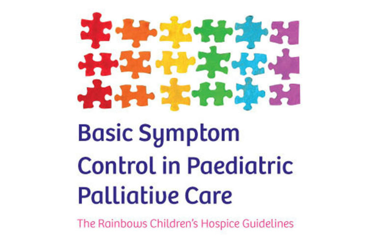 Latest version of symptom control guidelines for paediatric palliative care launched in the UK