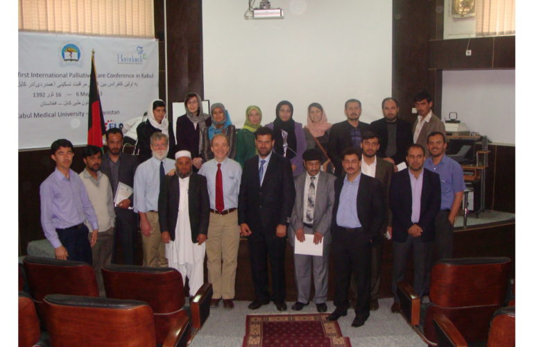 First palliative care conference held in Afghanistan