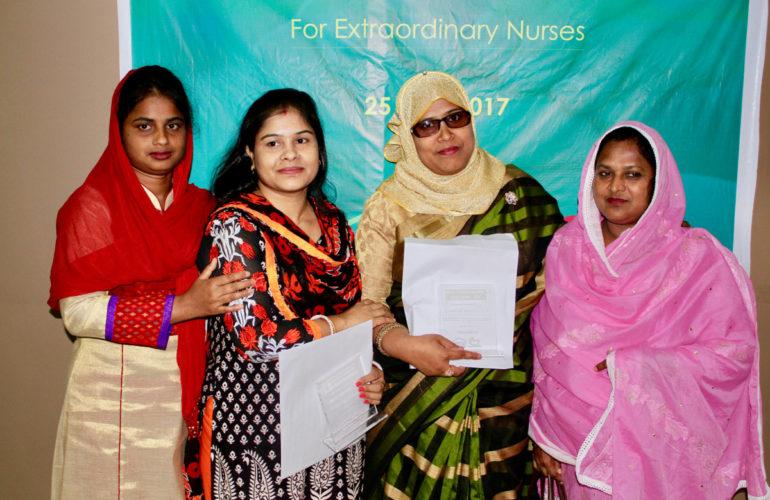 First Farida Khanam Palliative Care Nurse Award encourages more nurses to join the field