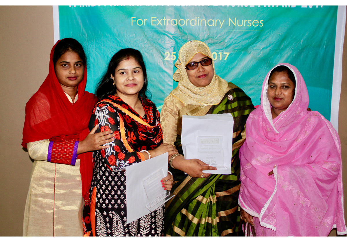 First Farida Khanam Palliative Care Nurse Award encourages more nurses to join the field
