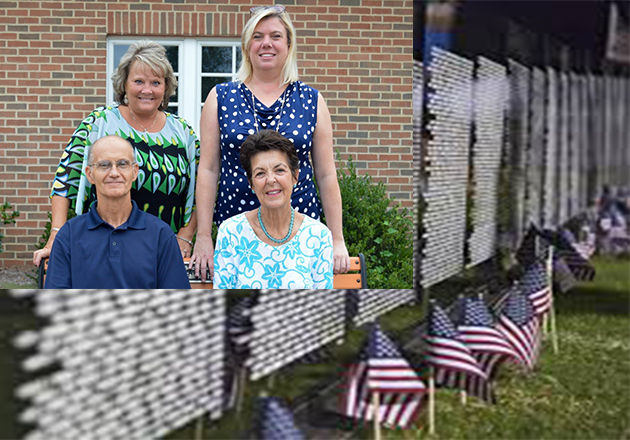 Hospice staff provide support for Vietnam Traveling Memorial Wall exhibition in Maryland