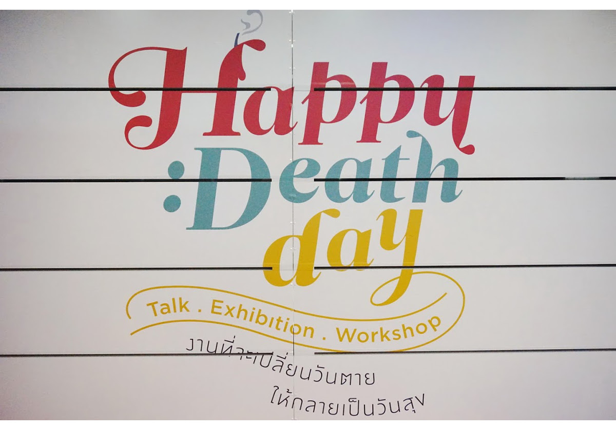 'Happy Death Day' – palliative care and death awareness exhibition held in Thailand