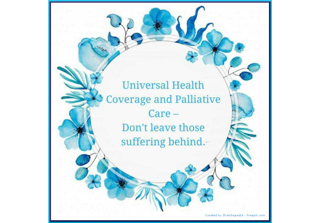 World Hospice and Palliative Care Day highlights the importance of Universal Health Coverage for those with life limiting illness