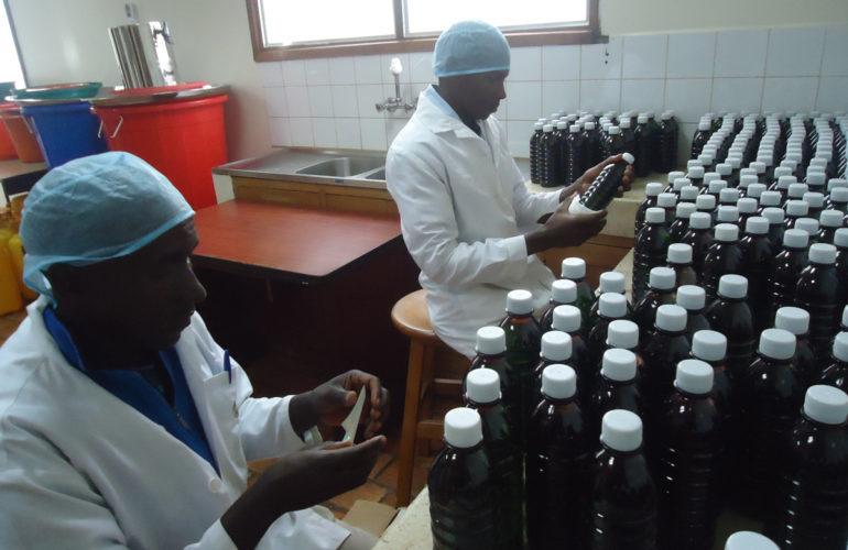 Botswana Ministry of Health Benchmarking Visit to Uganda on local reconstitution of oral liquid morphine to improve access to pain management services