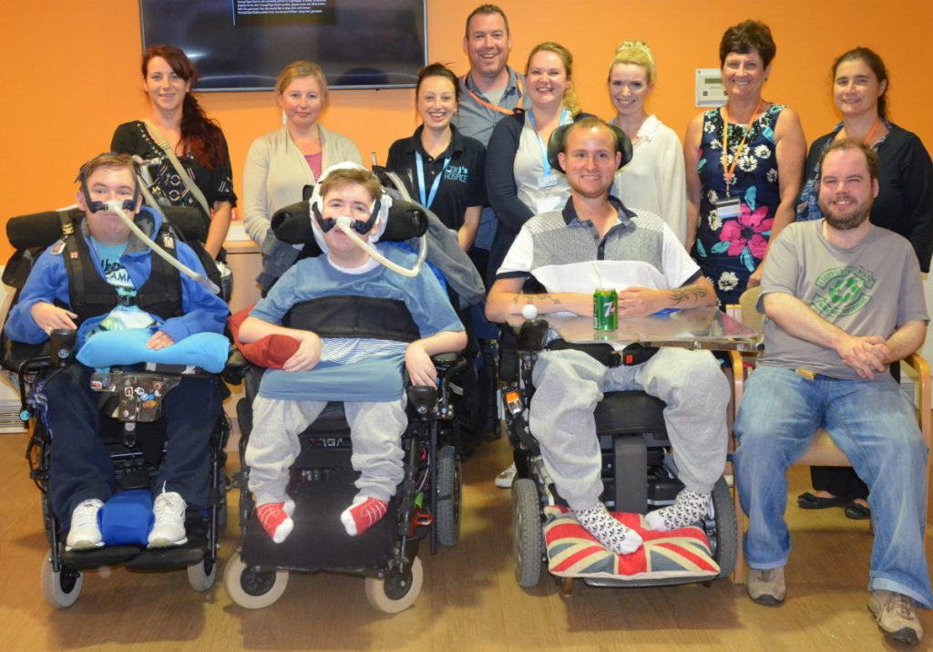 Hospices unite to give young adults fun and friendship