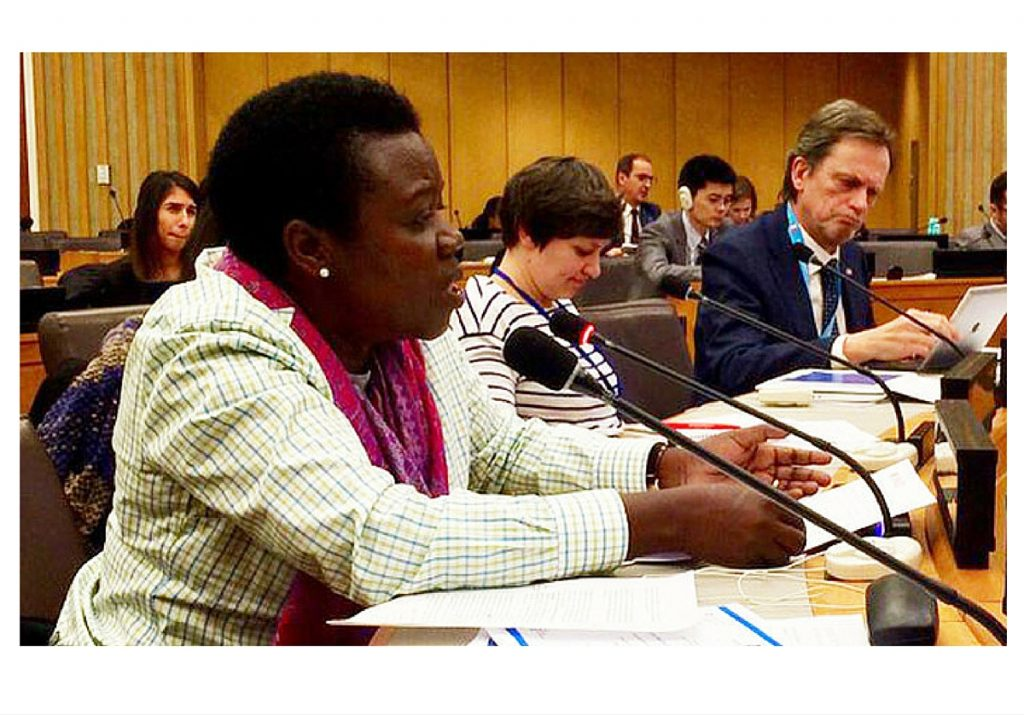 UN deliberations include statement on Uganda's leadership in pain control