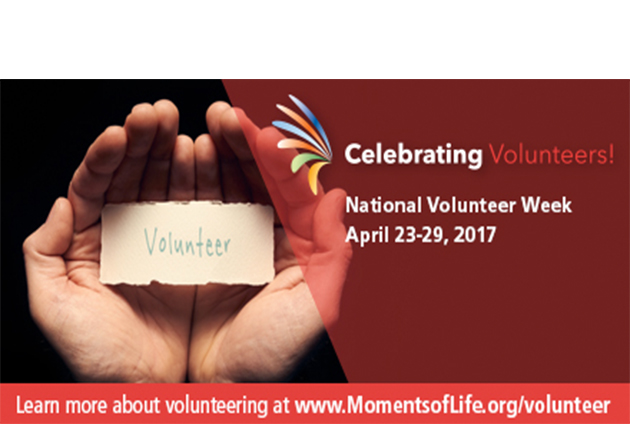 Celebrating Hospice Volunteers during National Volunteer Week