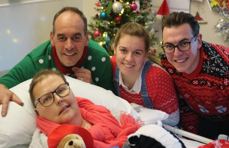 Hospice helps patient celebrate Christmas early with her family