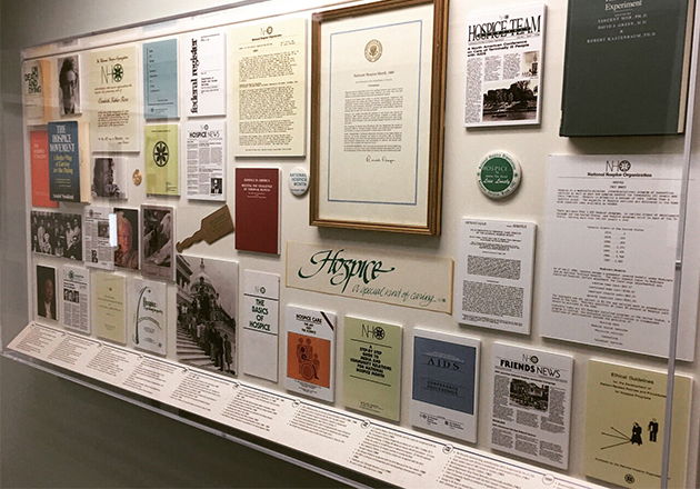 NHPCO dedicates new exhibit, Hospice: A Historical Perspective