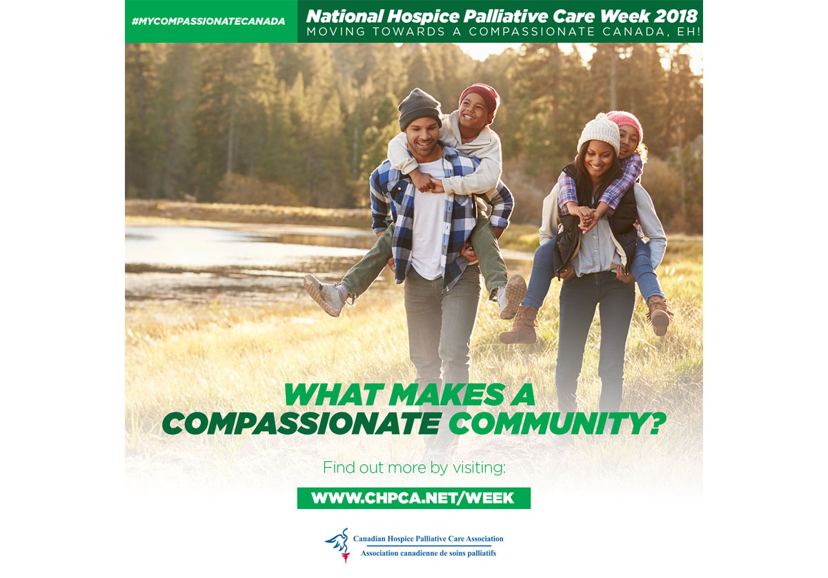 Message from the Minister of Health - National Hospice Palliative Care Week -  May 6 - 12, 2018