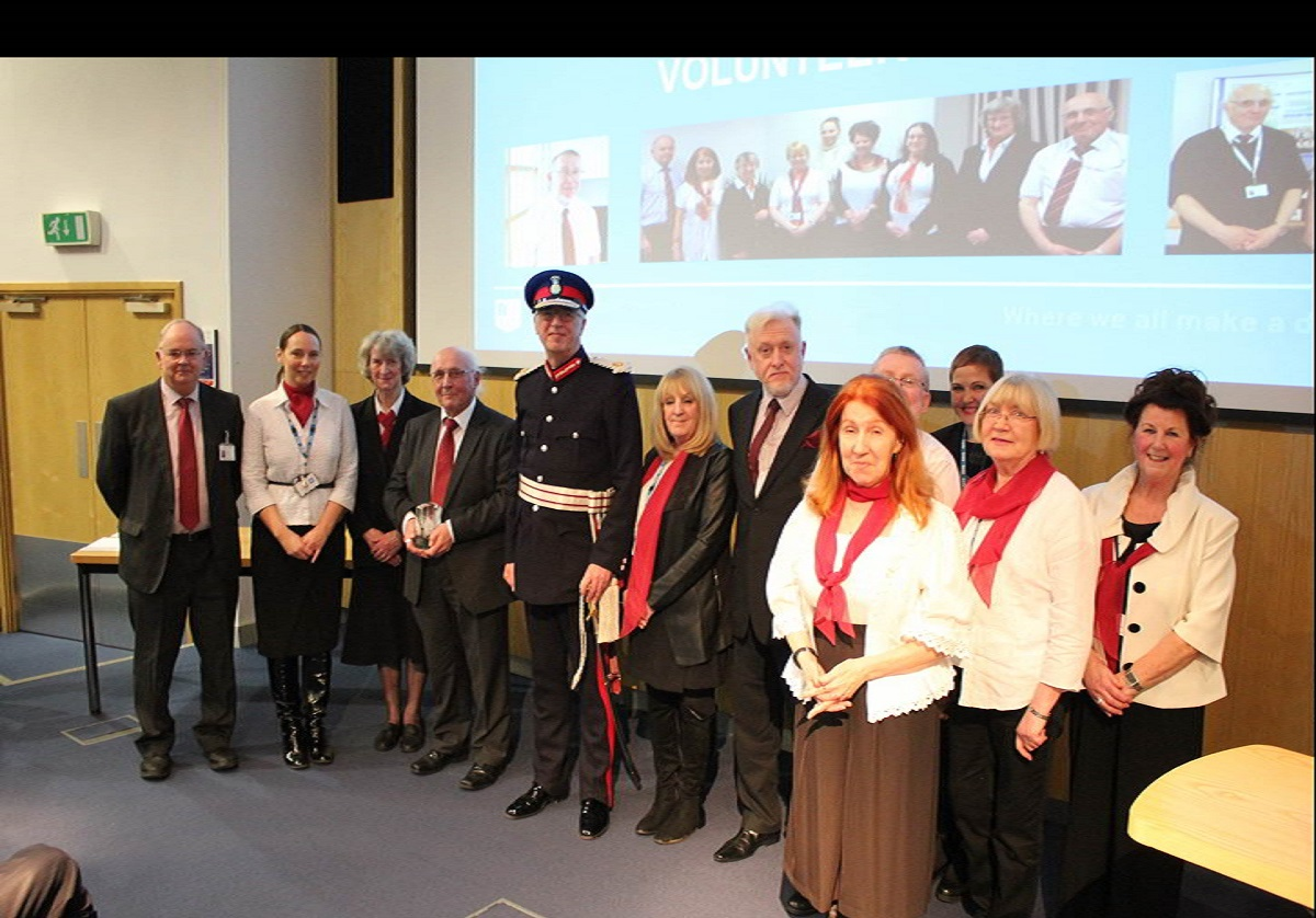 Queen's Award for Care for the Dying, Volunteers Service at Liverpool hospital trust