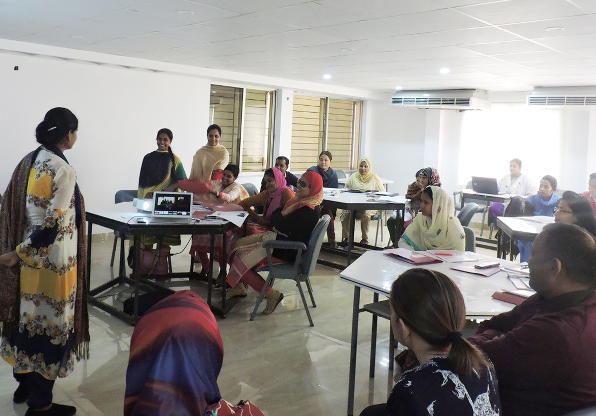 Developing nurse leaders in palliative care in Bangladesh