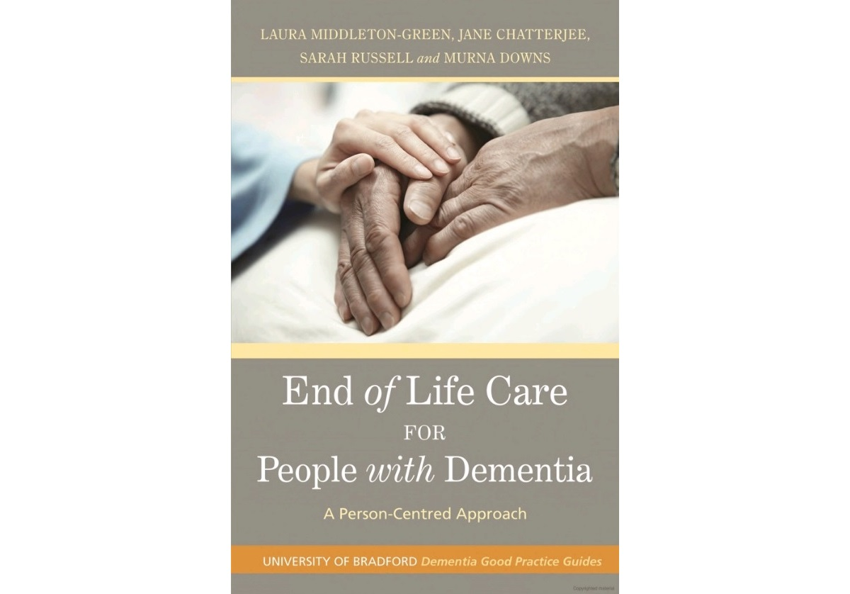 Book review: End of Life Care for People with Dementia: A Person-Centred Approach