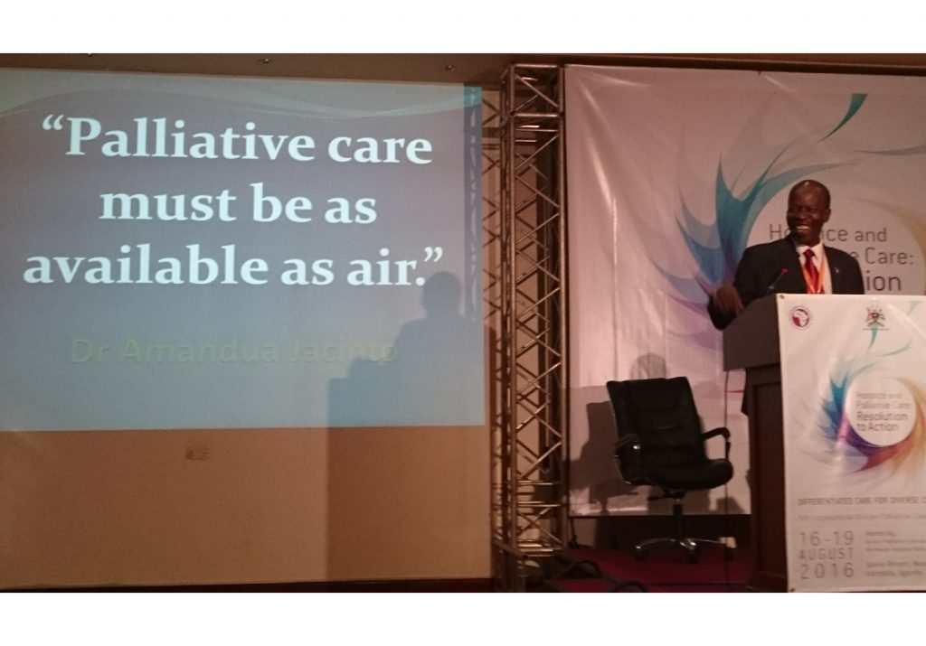 """Making palliative care """"as available as air"""" – updates from the  5th International African Palliative Care Conference"""