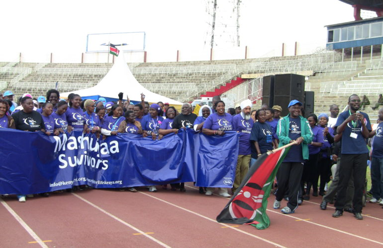 First ever Relay for Life cancer event held in Kenya