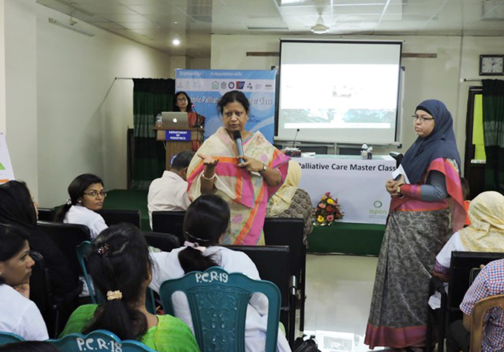 Successful three day paediatric palliative care master class held in Dhaka