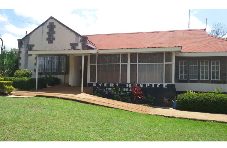 Bringing Palliative Care to the Central Highlands – the Nyeri Hospice story