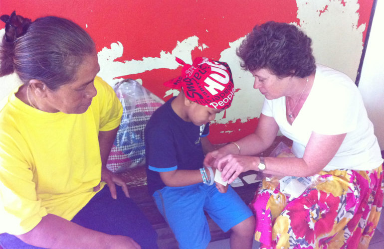 Bringing palliative care to the children of the Pacific Islands